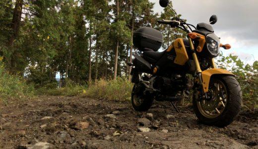 グロムに乗り始めて2年弱。このバイクの長所や短所、特徴などを紹介していくよ!