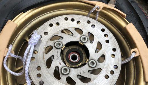【リアタイヤ組換え編】遂にグロム純正タイヤとおさらば!せっかくなので自分でタイヤ交換してみたよ!
