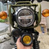 夜の峠はバイクのライトが暗くて怖い!フォグランプを装着したら想像以上だった!